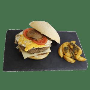 Hamburguesa especial Super Tota de ternera a domicilio - TIA TOTA - Alhama de Murcia