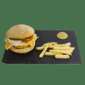 Hamburguesa especial de ternera crocante - TIA TOTA - Alhama de Murcia