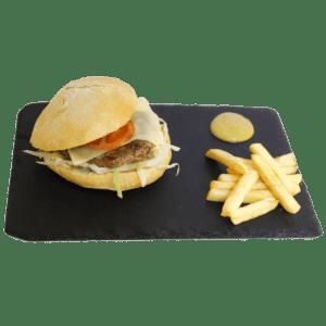 Hamburguesa de tenera clásica a domicilio - TIA TOTA - Alhama de Murcia