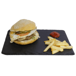 Hamburguesa especial de ternera a domicilio en Alhama de Murcia - Tia Tota - Hamburguesas a domicilio