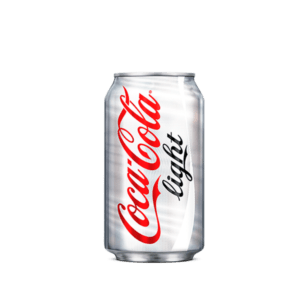 Lata de Coca Cola Light de 33 cl