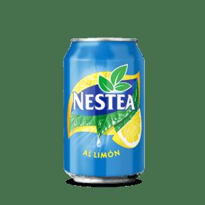 Lata de Nestea de limón