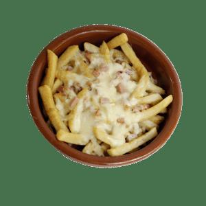 Patatas con bacon, queso y nata a domicilio - TIA TOTA - Comida a domicilio en Alhama de Murcia