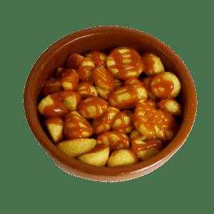 Patatas bravas a domicilio en Murcia - TIA TOTA - Comida a domicilio en Murcia