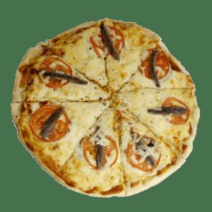 Pizza con anchoas en Alhama de Murcia - TIA TOTA - Pizzas a domicilio