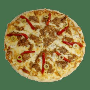 Pizza de atún - Tia Tota - Pizzas a domicilio en Murcia