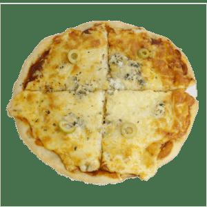 Pizza de cuatro quesos - Tia Tota - Alhama de Murcia