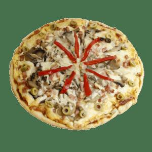 Pizza Carbonara - Tia Tota - Pizzerias a domicilio en Alhama de Murcia