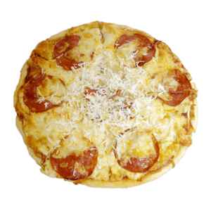 Pizza de chorizo y panceta - TIA TOTA - Pizzas a domicilio en Alhama de Murcia