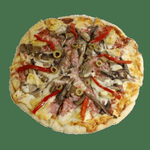 Pizza variada Variette - Tia Tota - Pizzas a domicilio en Alhama de Murcia