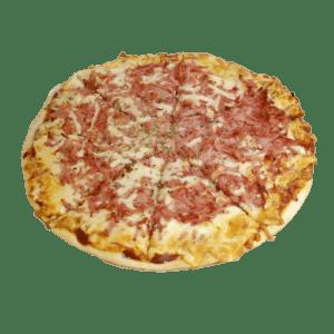 Pizza de jamón y queso en Alhama de Murcia - Tia Tota