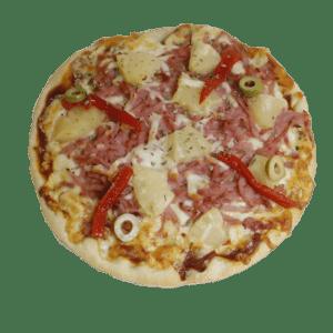 Pizza agridulce (Jamón York y Piña) - Tia Tota - Pizzerias a domicilio en Alhama de Murcia