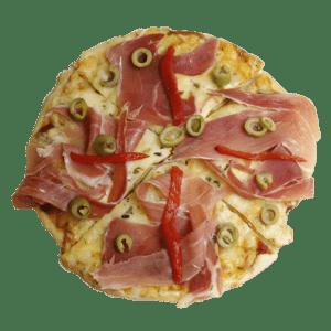Pizza de jamón serrano - TIA TOTA - Pizzerias a domicilio en Alhama de Murcia