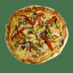 Pizza vegetal - TIA TOTA - Pizzas a domicilio en Alhama de Murcia