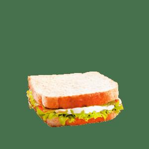 Sandwich vegetal con atún a domicilio en Murcia - TIA TOTA - Comida a domicilio